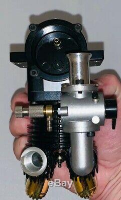 NIB Saito FA-180 GK RC Engine Ringed Four Stroke 1.80 Cu in Single Cylinder