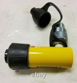 New Enerpac RC-51 Single-Acting Alloy Steel Hydraulic Cylinder 5 Tons 1 Stroke