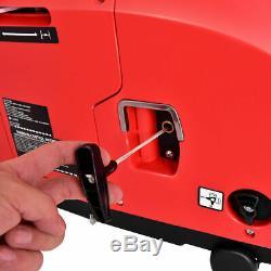 Portable 1250W Digital Inverter Generator 4 Stroke 53cc Single Cylinder Red New