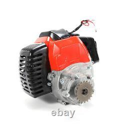 SALE! 49cc 2 Stroke Engine Single Cylinder Pull Start Pocket Pit Bike Motor-part