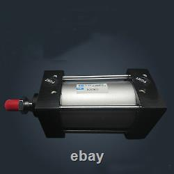 SC80-400 Bore 80mm Stroke 400mm Single Thread Rod Dual Action Air Cylinder