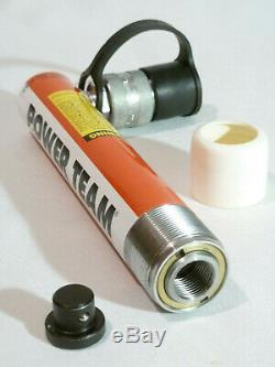 SPX Power Team C55C Single Acting Hydraulic Cylinder 5 ton Capacity 5 1/4 Stroke