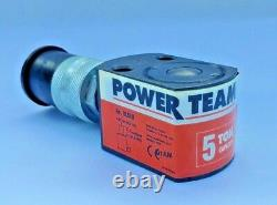 SPX Power Team RLS50 Cylinder, 5 Ton, 9/16 Stroke, Single Acting, Spring Return
