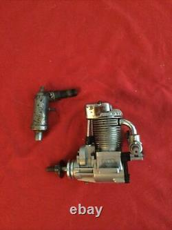 Saito 72 cu in (11.80cc) Single Cylinder Ringed 4-Stroke Glow Engine #FA72B