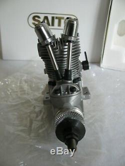 Saito 72 cu in (11.80cc) Single Cylinder Ringed 4-Stroke Glow Engine #FA72B NOS