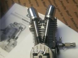 Saito 72 cu in Single Cylinder 4-Stroke Glow Engine FA72 IN BOX FREE SHIPPING