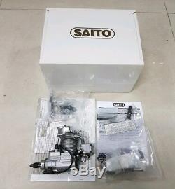 Saito Engines FG-11 Gasoline Single Cylinder 4-Stroke Engine withmount