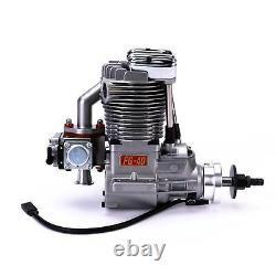 Saito Engines FG-40 4-Stroke Gas Single Cylinder Engine BQ
