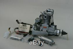 Saito FG-17 4 Stroke Single Cylinder Gasoline Engine with Mount for RC Plane
