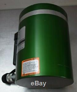 Simplex 6 Stroke Aluminum Hydraulic Cylinder, 100 Ton Capacity, Single-Acting