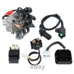 Single Cylinder 4-Stroke 150cc Motors Complete Engine Set CDI Ignition