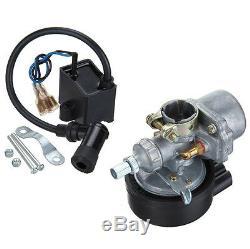 Single Cylinder CDI 2 Stroke 50cc Petrol Gas Engine Motorized Bike Bicycle US