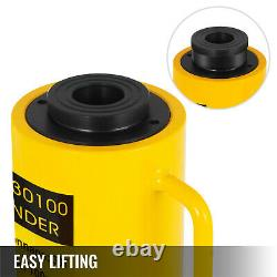 Single-acting Hollow Ram Cylinder 30tons 4Stroke Ram Hollow Lift Cylinder