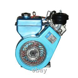 Small 4 Stroke Diesel Engine Single Cylinder Air Cooled Farm Ship Motor 1840w