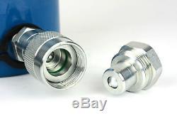 TEMCo HC0017 Hydraulic Cylinder Ram Single Acting 50 TON 6 Inch Stroke