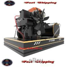 TOYAN Single Cylinder Methanol Four-stroke Engine Model Set with Base Hobby Toy