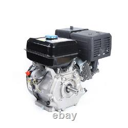 US Gas Engine Motor 15HP 420CC 4 Stroke OHV Single Cylinder Horizontal Gasoline
