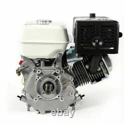 USED 15HP 420cc Petrol Engine Gas Motor 4Stroke OHV Single Cylinder with Oil Alarm