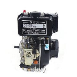 Vertical 4-Stroke Diesel Engine 247CC Single Cylinder Air-cooled Motor Machine