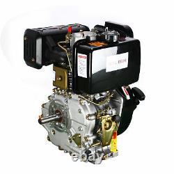 Vertical Single Cylinder Air-Cool Motor 10HP 4-Stroke Tiller Diesel Engine Used