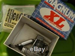 Vintage Magnum XL FS 4 Stroke Model Airplane Engine 52-AR Single Cylinder Ringed