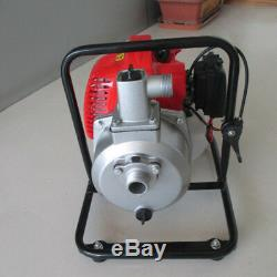 Water Transfer Pump 1 43cc 2HP Air-cooled 2 Stroke Engine Single Cylinder Gas
