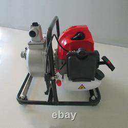 Water Transfer Pump 1 Air-cooled 2 Stroke Engine Single Cylinder Gas 43cc 2HP