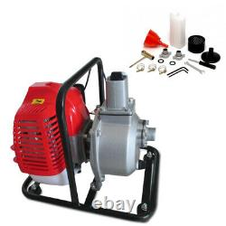 Water Transfer Pump Single Cylinder Gas Engine Air-cooled 2 Stroke 2HP 43cc 1