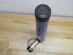 WorkSmart Single Acting Hydraulic Cylinder 10 Ton Capacity 9.9 Stroke 10000 psi