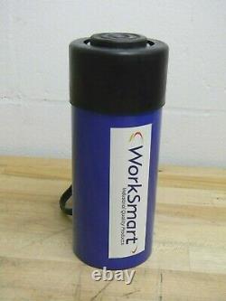 WorkSmart Single Acting Hydraulic Cylinder 25 Ton Cap. 4 Stroke WS-MH-HPC1-078